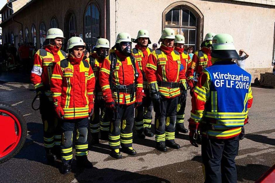Leistungsprüfung für die Feuerwehren aus dem Landkreis Breisgau-Hochschwarzwald in Lenzkirch. (Foto: Wolfgang Scheu)