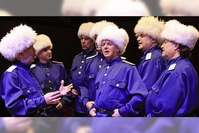 Balalaika Ensemble mit Wolga Kosaken in Hinterzarten