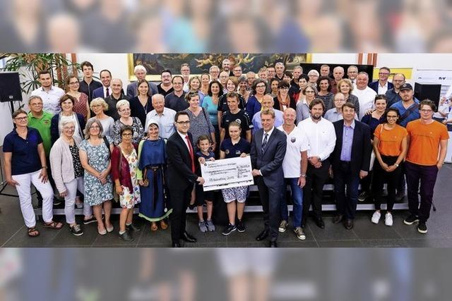 111 000 Euro für 51 Vereine und Einrichtungen