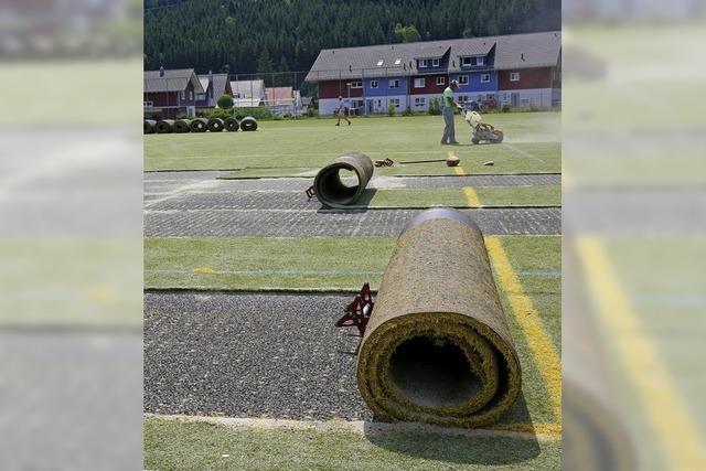 Neuer Platz für SV Titisee