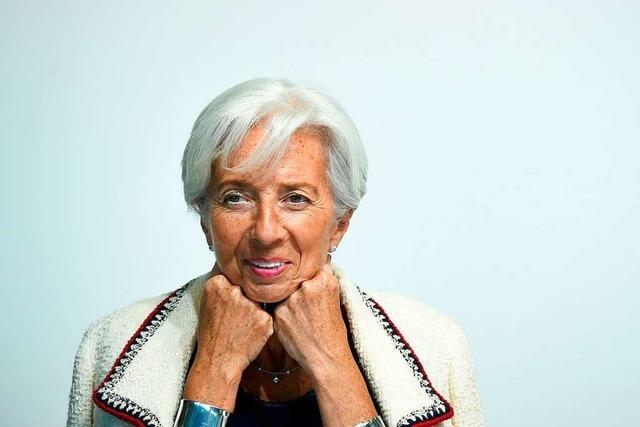 Christine Lagarde: Solide, souverän und fit