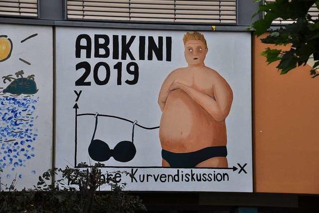 So haben sich die Abi-Logos und Streiche in Schopfheim entwickelt