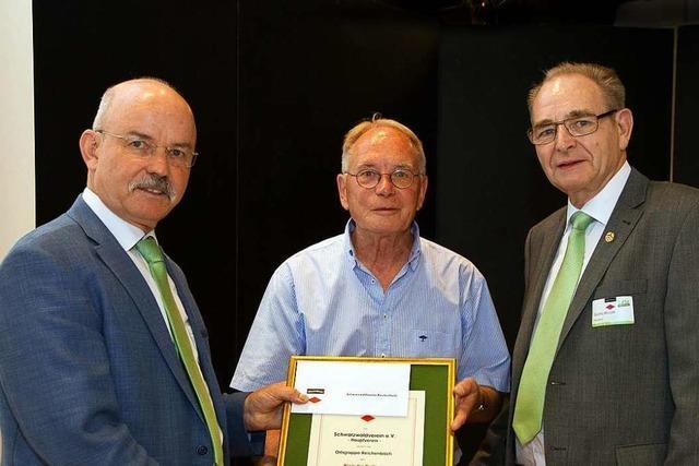 Schwarzwaldverein Reichenbach erhält Kulturpreis