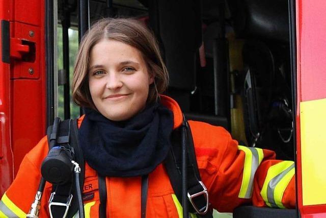 Feuerwehrfrau in Kenzingen: