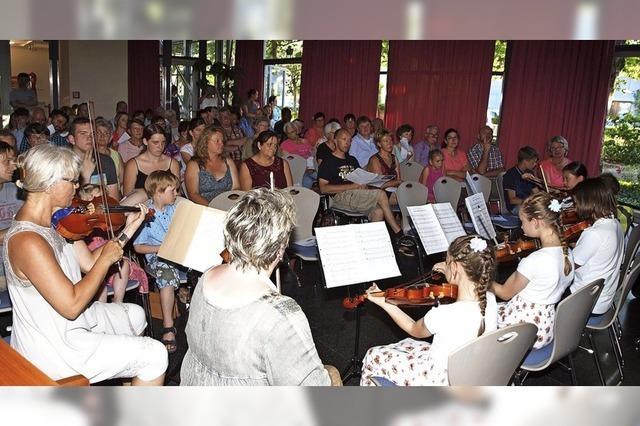 Aus Freude am Musizieren
