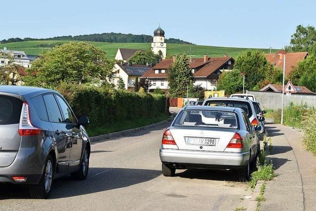 Krozingerstraße in Ehrenkirchen erhält eine Parkverbotszone
