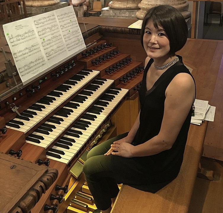 Organistin Eiko Maria Yoshimura   | Foto: Michael Neymeyer