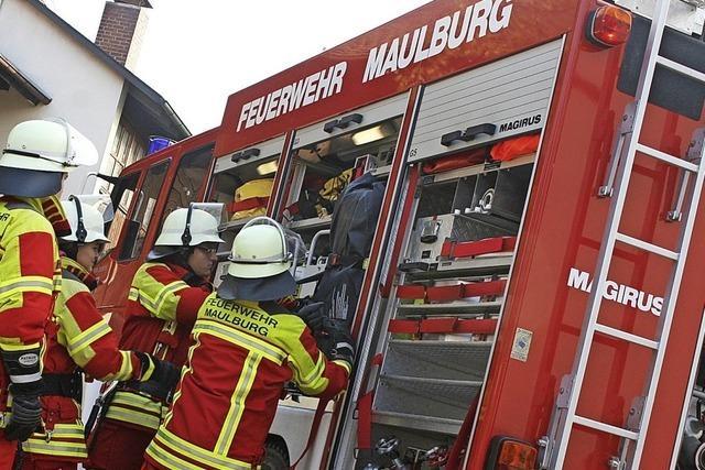 Schwindende Kräfte im Brandfall