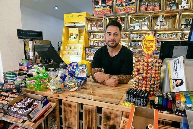 Mitte Juni hat Ebrahim Rauf seinen neuen Kiosk an der Eschholzstraße eröffnet