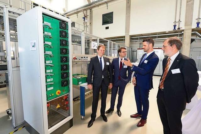 Freiburger Fraunhofer-Institut weiht für 15 Millionen Euro neues Labor ein