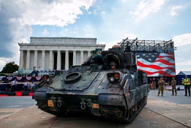 Trump feiert den 4. Juli – und dabei nur sich selbst