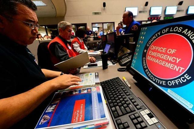 Erdbeben der Stärke 6,4 erschüttert das südliche Kalifornien