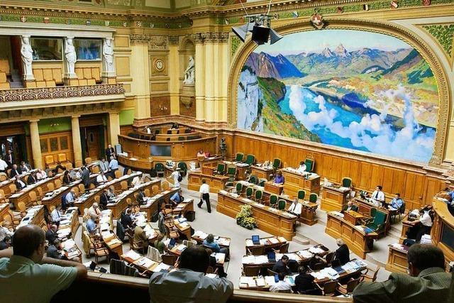Sprechen Sie in Bern mit Nationalräten und dem deutschen Botschafter und erleben Sie eine Sitzung des Nationalrats!