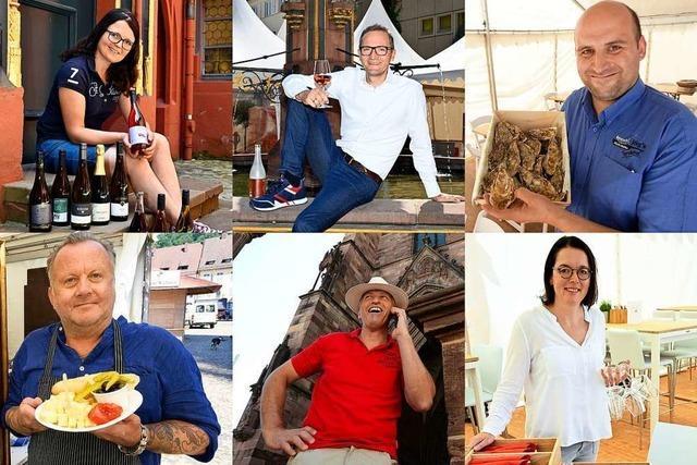 Diese Männer und Frauen sorgen auf dem Freiburger Weinfest für den Genuss