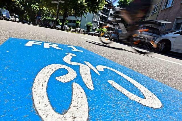 Der Landkreis Lörrach hält an der Idee eines Radschnellwegs ins Wiesental fest