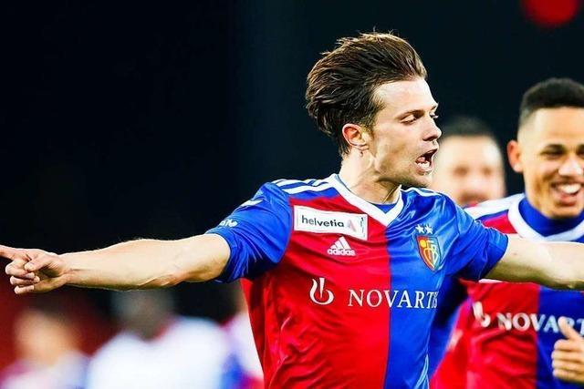 Valentin Stocker ist neuer Kapitän des FC Basel