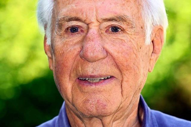 Der ehemalige BZ-Geschäftsführer Günter Klimsch wird heute 90