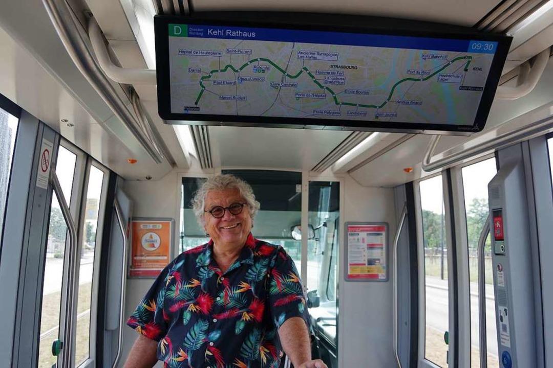 Neuerdings auch in der grenzüberschreitenden Tram zu hören: Gerd Birsner.  | Foto: kare