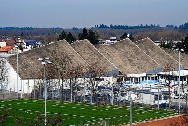 Am Freiburger Eisstadion ist Ammoniak aus einer Kühlanlage ausgetreten