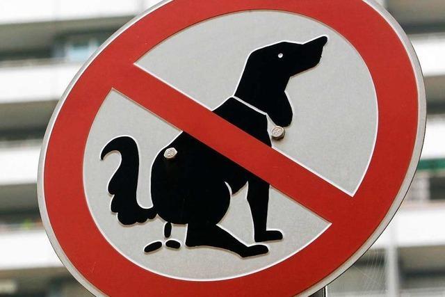 Wie gehen Orte im Markgräflerland mit Leinenpflicht und Hundekot um?