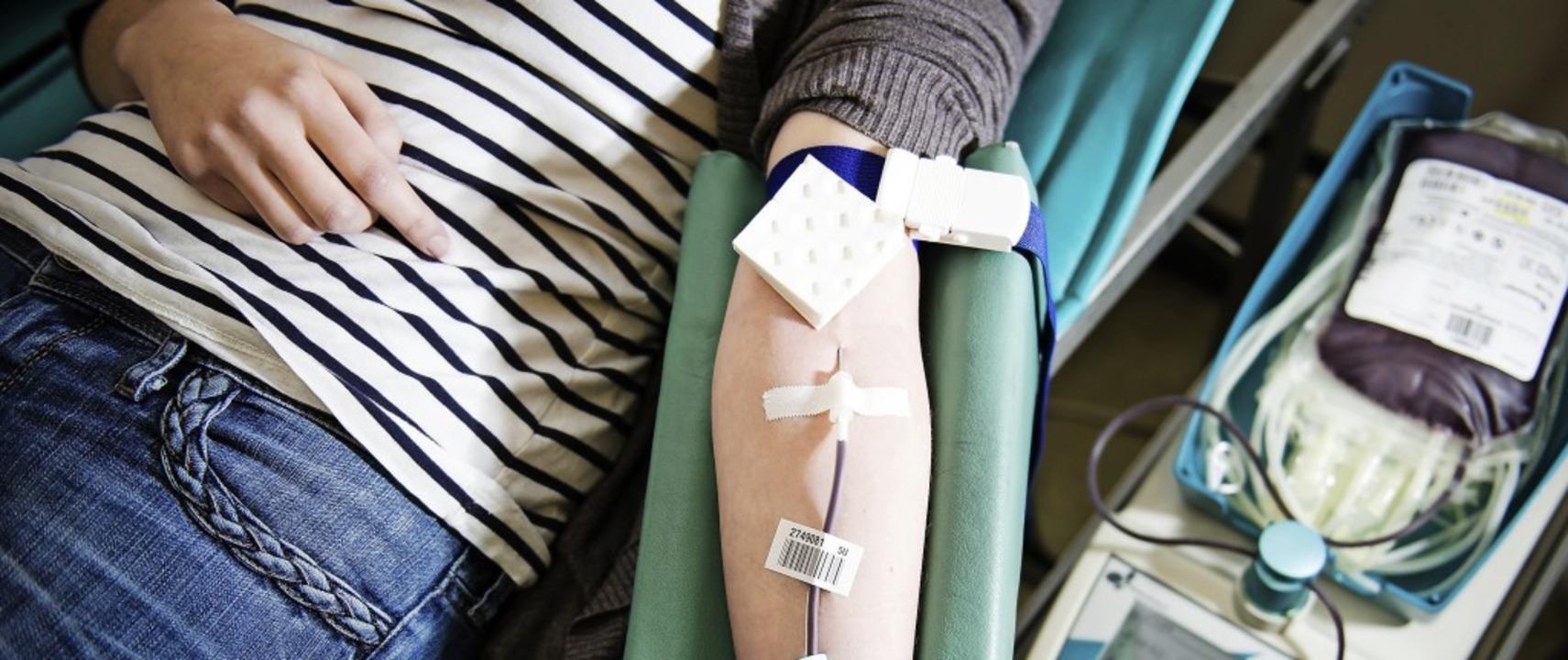 Blutspenden ist keine große Sache, auch der Zeitaufwand ist überschaubar.     Foto: David Ebener