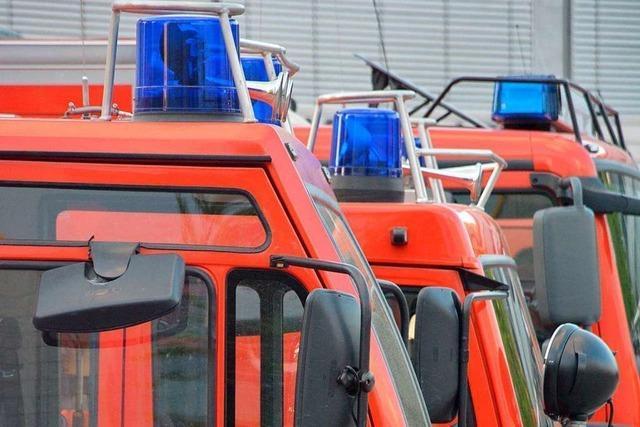 Am Freitagabend läuft eine Feuerwehrübung am Lörracher Kreisklinikum