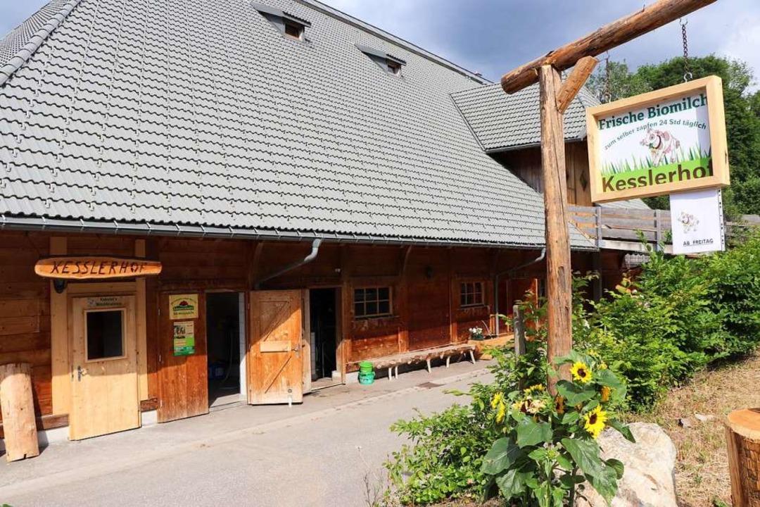 Der Kesslerhof in Hinterzarten.  | Foto: Dieter Maurer