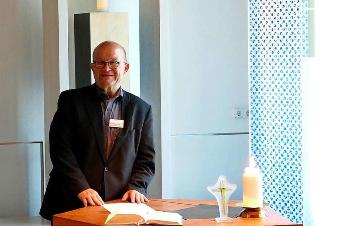 Matthias Hiller ist Flughafenseelsorger.  | Foto: ia