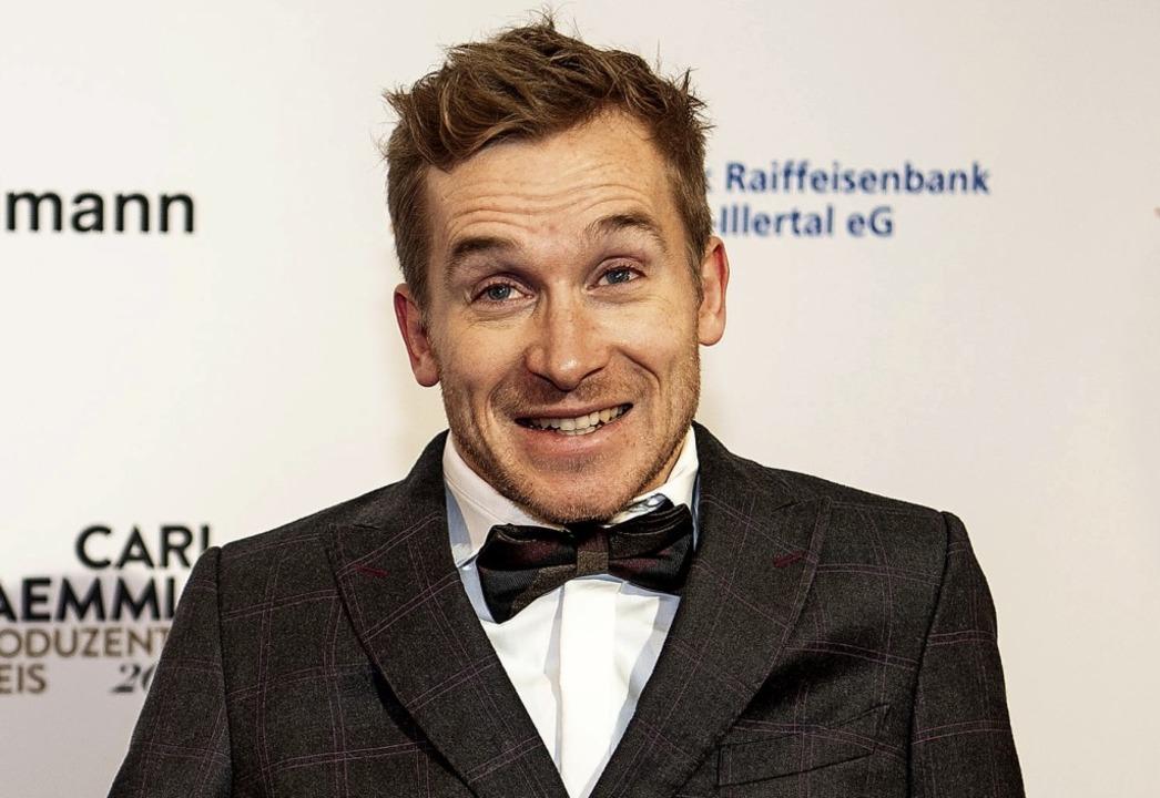 Schauspieler Samuel Koch   | Foto: Fabian Sommer (dpa)