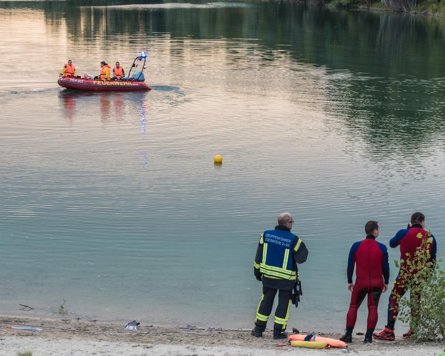 Zu einem tödliche Badeunfall kam es am Samstagabend am Baggersee in Zienken.  | Foto: Alexander Anlicker