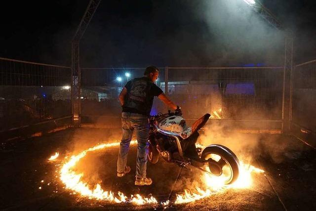 Burn Out Party in Rickenbach