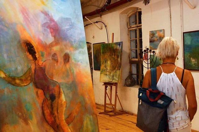 Riegeler Künstlertage zeigen die ganze Vielfalt künstlerischen Schaffens