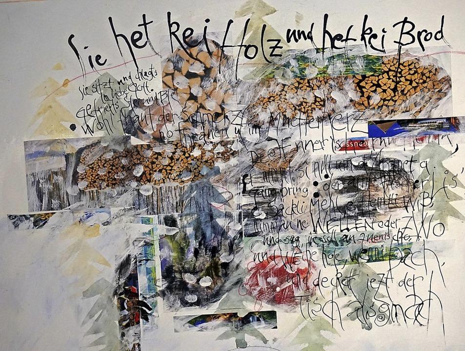Die Grenzen und Gräben  zwischen Kunst...d Stark in seinen Bildern überwinden.   | Foto: Paul Klock
