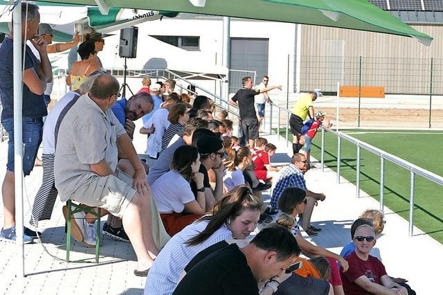 Zuschauer und Kicker sind rundum zufrieden mit der neuen Anlage