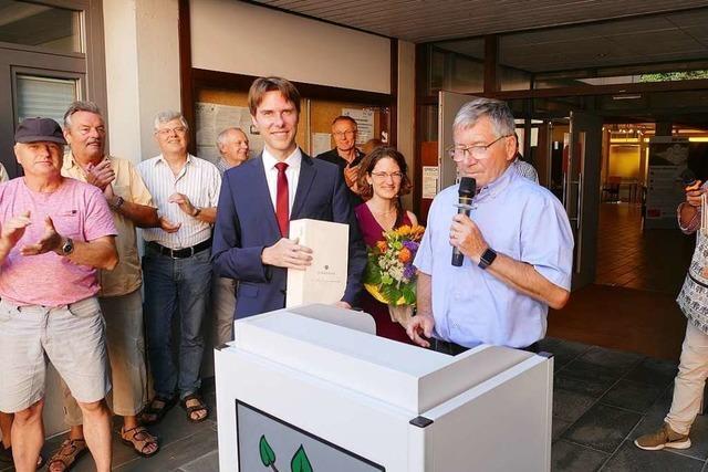 Martin Holschuh bleibt Schutterwälder Bürgermeister