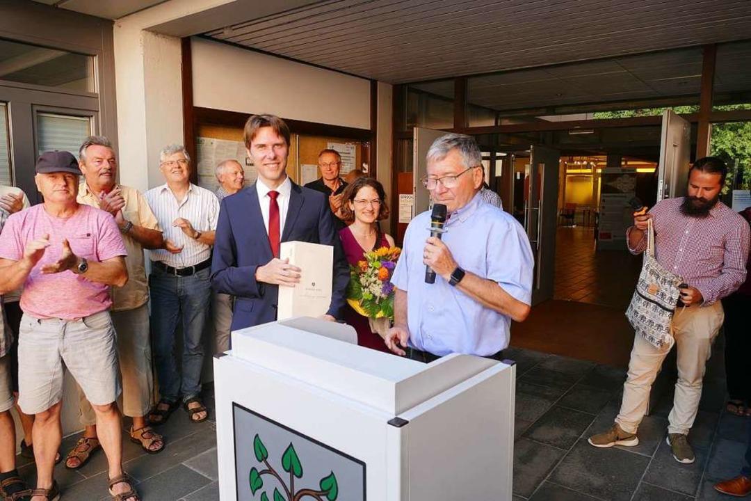 Die Wählerinnen und Wähler schicken Ma...olschuh und Partnerin Gabriele Binder.  | Foto: Ralf Burgmaier