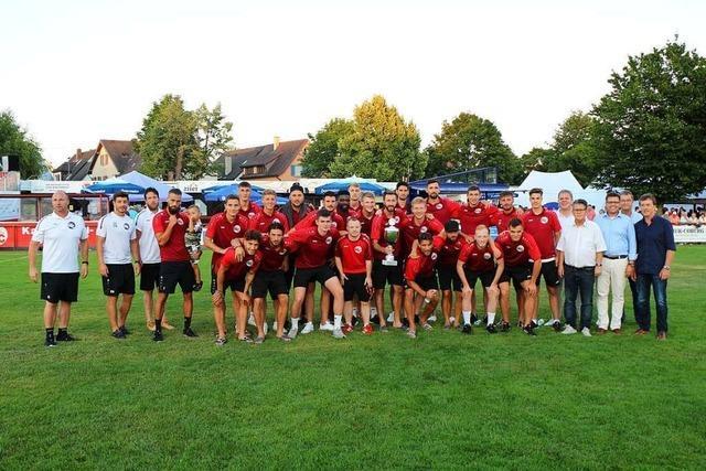 Der Bahlinger SC holt zum zweiten Mal den Kaiserstuhl-Cup