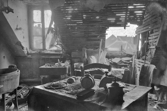 Von Tod und Zerstörung: Ein Freiburger hat vier Jahre Krieg in Bildern festgehalten