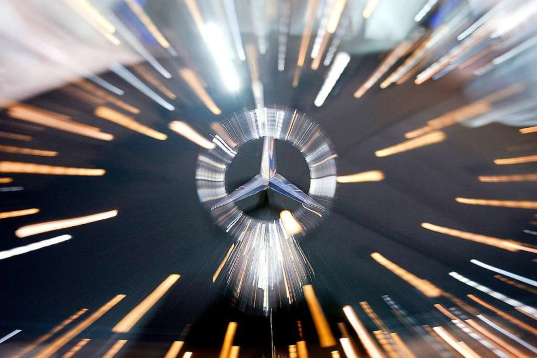 Die Polizei sucht den Fahrer eines Mercedes.  | Foto: A2955 Wolfgang Kumm