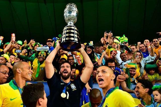 Brasilien gewinnt die Copa América – auch ohne Neymar