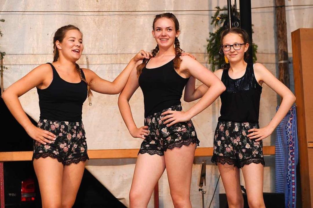 Die Tanzmädels next Generation.  | Foto: Wolfgang Scheu
