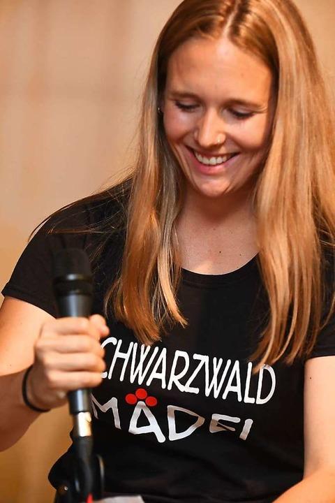 Durchs Programm führte Katharina Metzger beim Raitenbucher Sommerfest.  | Foto: Wolfgang Scheu