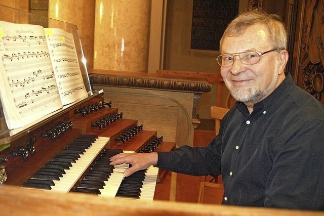 Bernhard Marx gibt Konzert im Rahmen der internationalen Domkonzert in St. Blasien