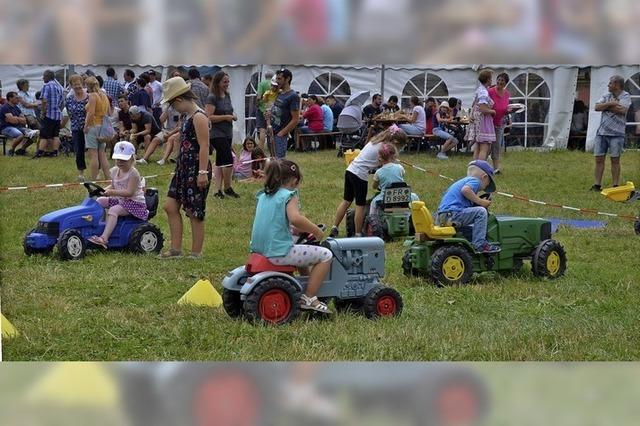 Traktorengaudi und viel Unterhaltung