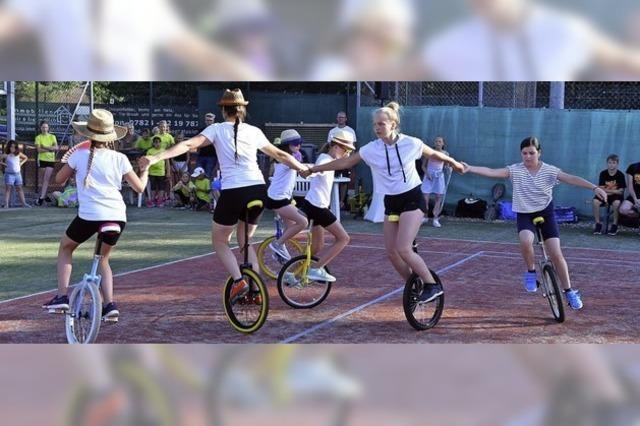 Beim TuS wird sportlich gefeiert