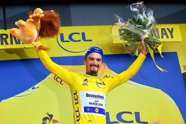 Julian Alaphilippe gewinnt die dritte Etappe der Tour de France