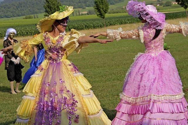 Tanz, Musik und Kunst in allen Farben und Formen