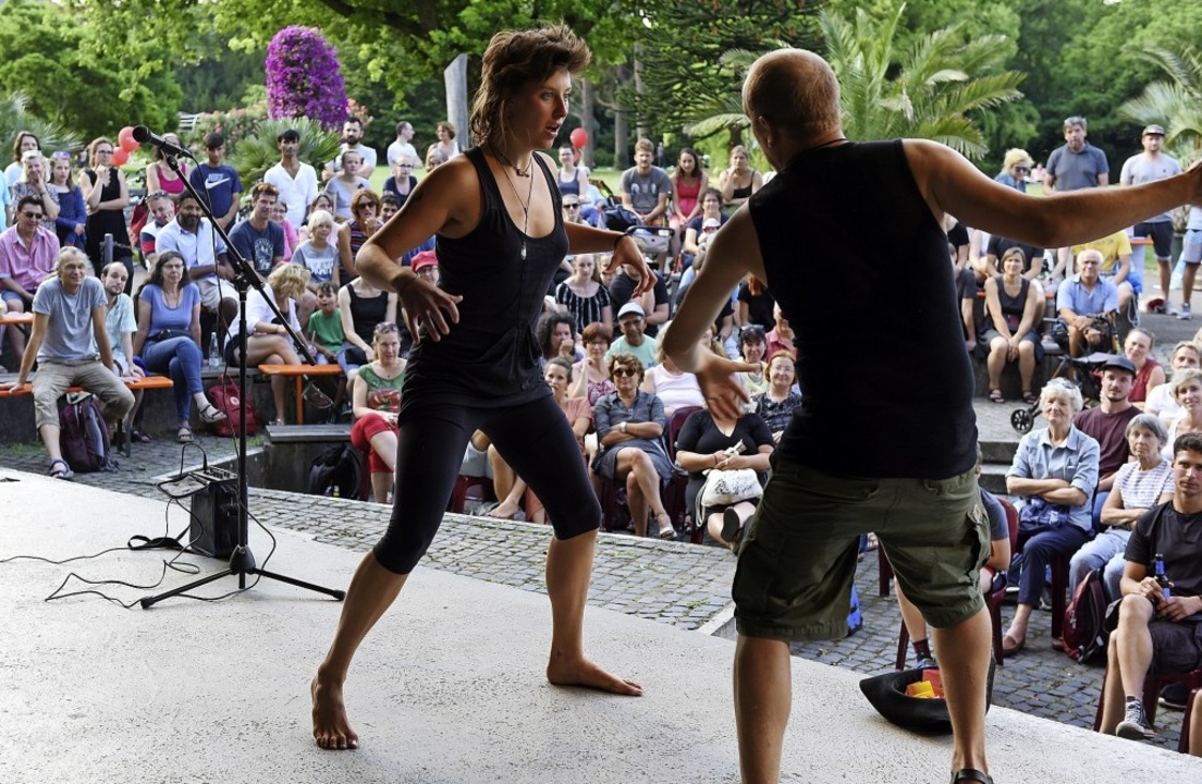 Auch Improvisation erfordert Übung: di...s Festivals im Pavillon im Stadtgarten  | Foto: Rita Eggstein