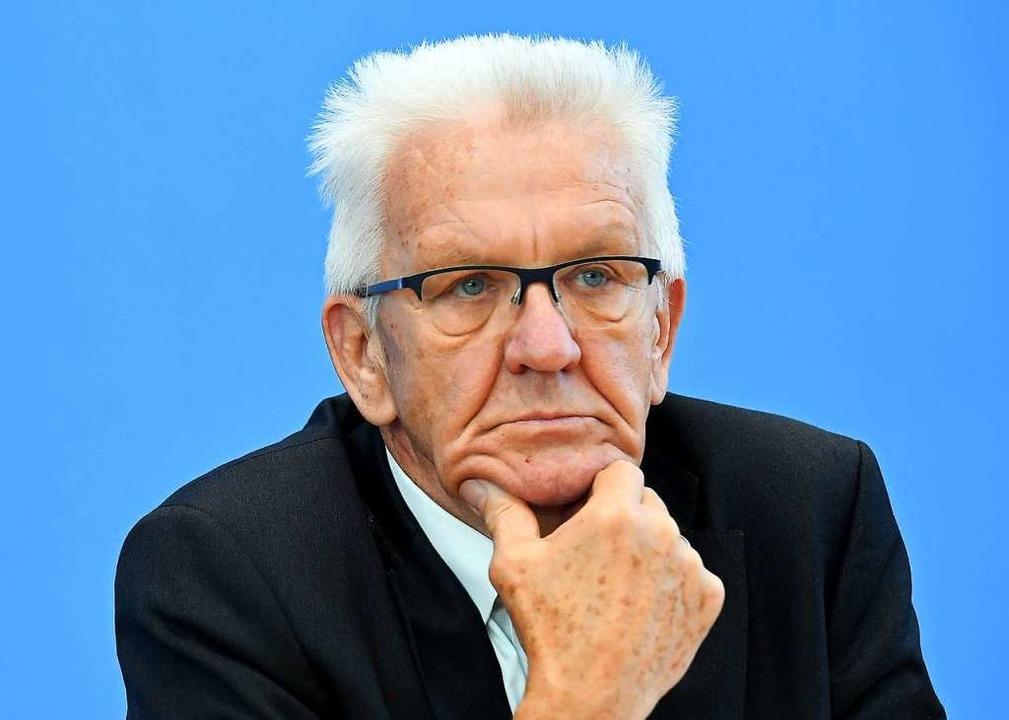 """Winfried Kretschmann will """"Männe...; in die """"Pampa"""" schicken.    Foto: Britta Pedersen (dpa)"""