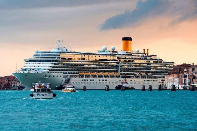Auf Kollisionskurs: Viele Italiener ärgern sich über Kreuzfahrtschiffe